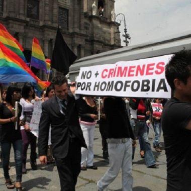 Los crímenes de odio en México están fuera de control.
