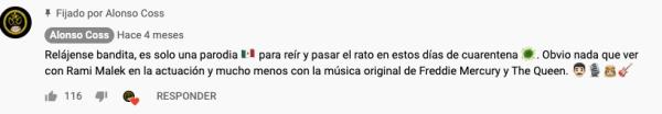 """Comentario de los creadores sobre la versión de banda de """"Bohemian Rhapsody"""", que parodia a Freddie Mercury usando estereotipos gays."""