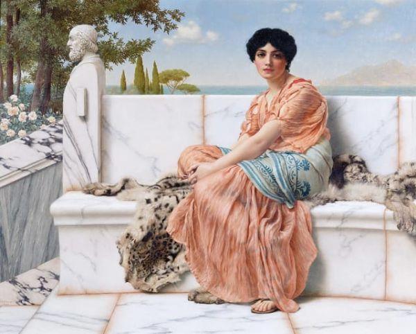 La palabra lesbiana viene de Safo de Lesbos