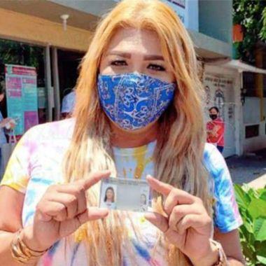 Ella logró la primera reasignación de sexo genérica en Veracruz.