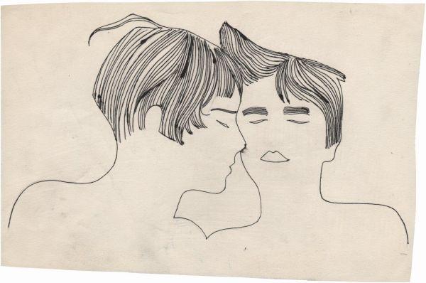 Los primeros dibujos de Andy Warhol podrían ser considerados gay.