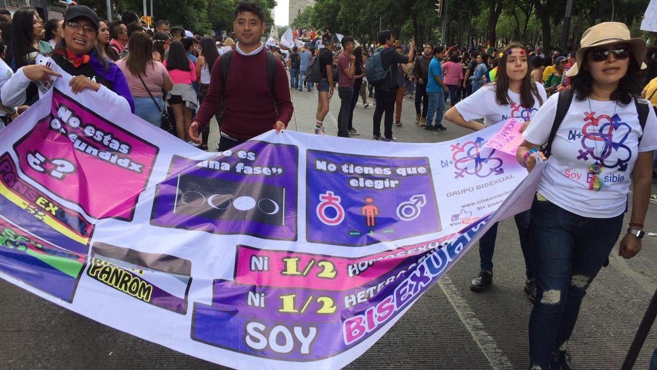 Activismo bisexual en México