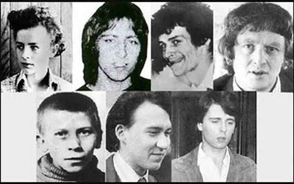 Fotografías de algunas de las víctimas.