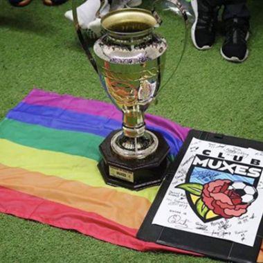 El acta constitutiva del Club Muxes especifica que defienden a la comunidad LGBT+.