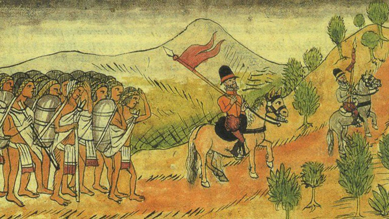 Antes de la Independencia de México, la homosexualidad sufría de maneras muy crueles.