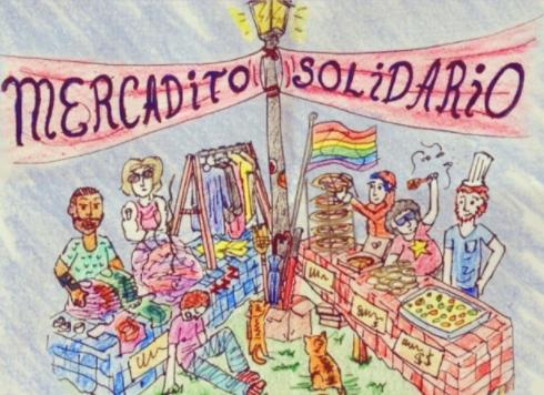 Mercadito solidario, otra forma en la que Casa Frida busca recaudar fondos además de con fotos.