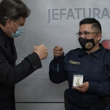 Thiago Mendoza, policía trans de Córdoba, Argentina