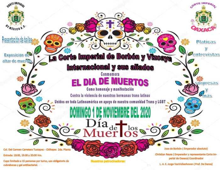 altar de muertos LGBT+ Tuxtepec Oaxaca