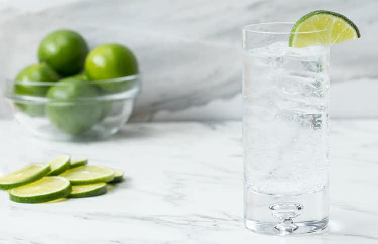 bebidas alcohólicas a dieta vodka