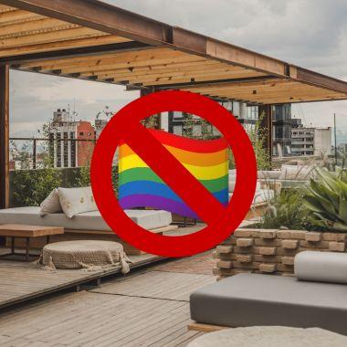 Discriminan a chico bolsa en Toledo Rooftop