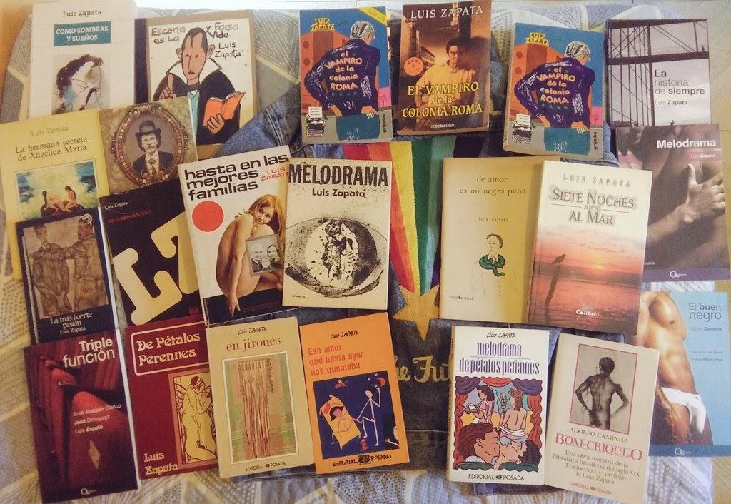 Luis Zapata libros