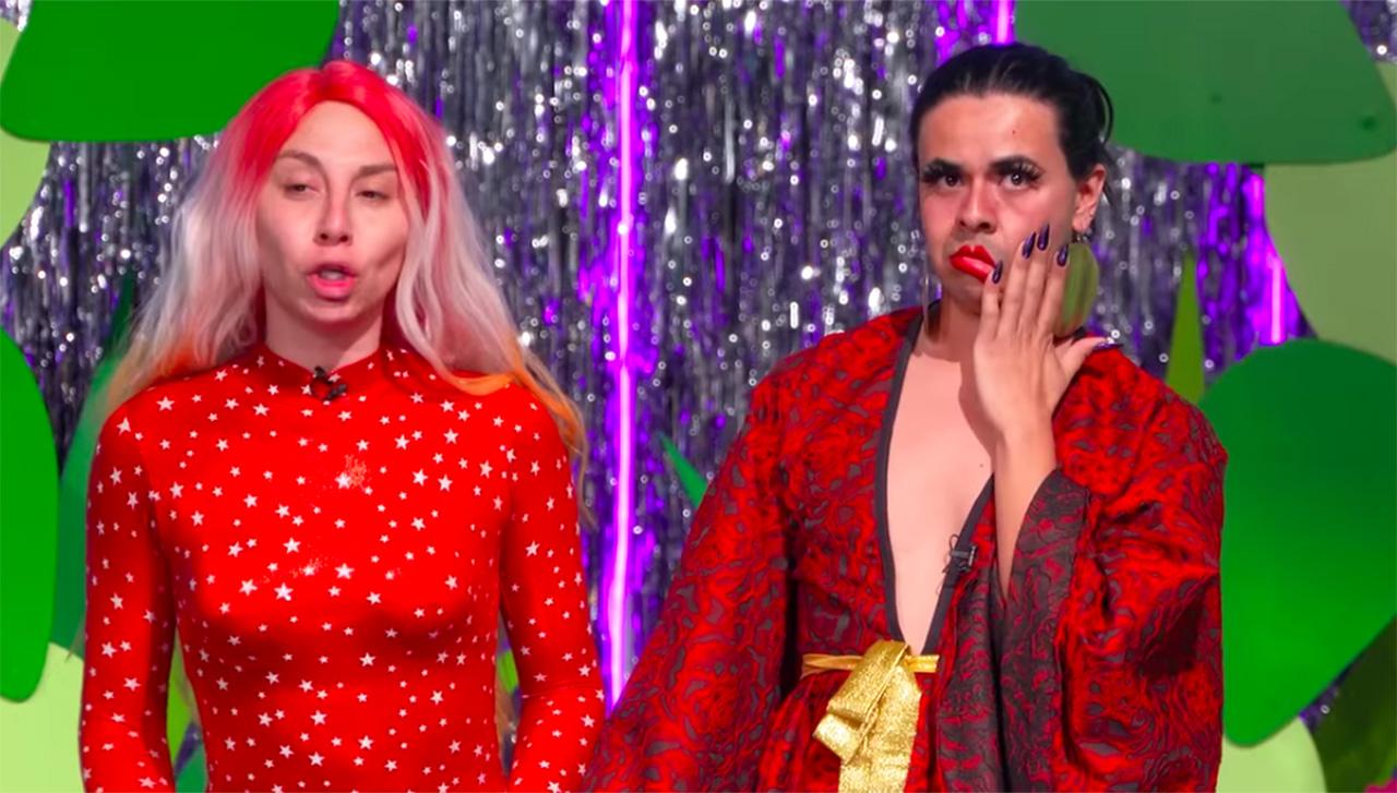 Madison y Aviesc Who durante una cápsula sobre el VIH en La más draga