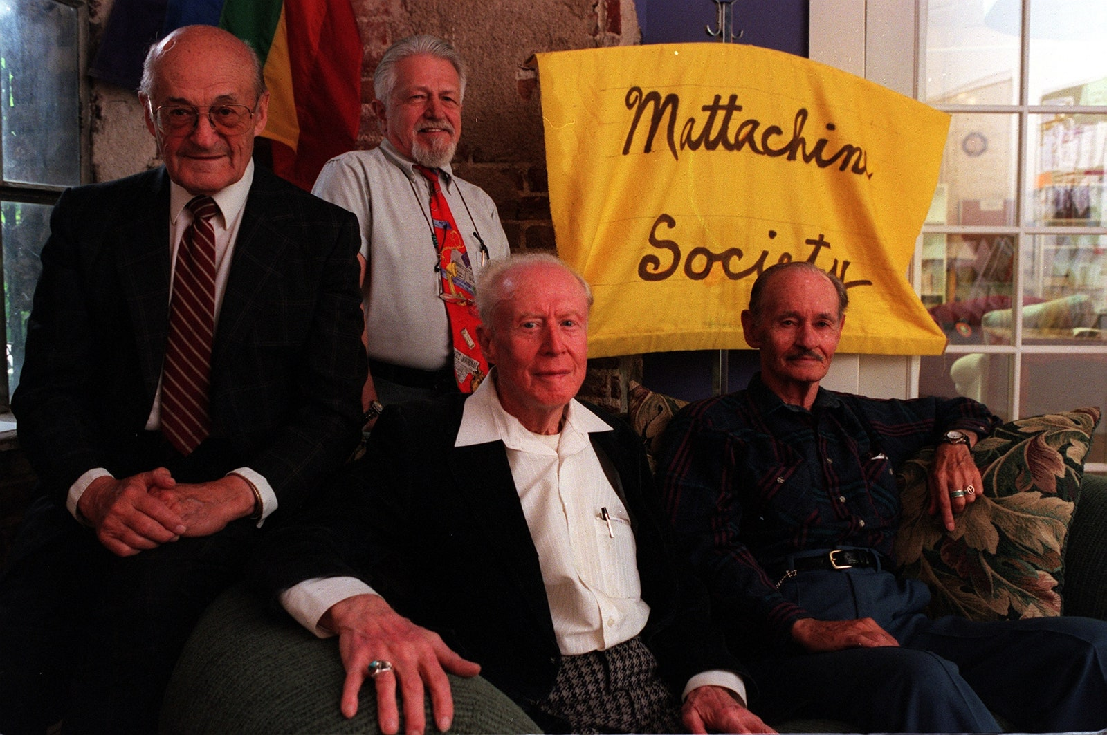 Miembros de The Mattachine Society