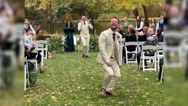 video flashmob boda gay