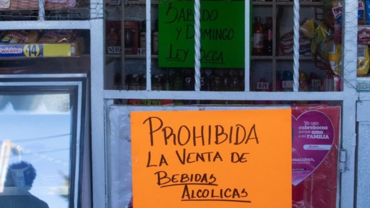 PROHIBICIÓN BEBIDAS ALCOHÓLICAS