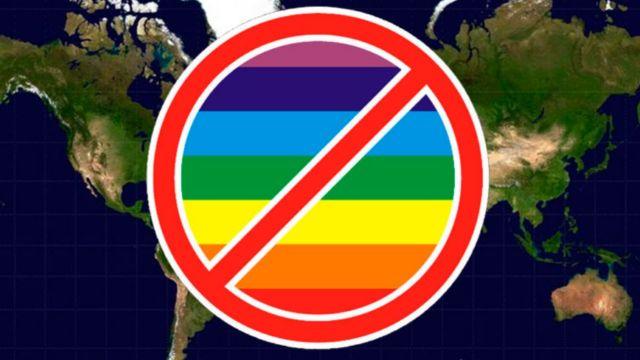 Países LGBT nunca visitar mapa