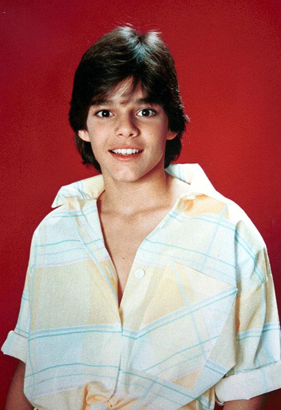 Ricky martin menudo niño estrella infantil