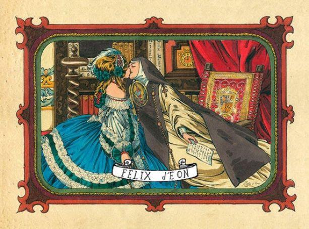 Sor Juana Inés lesbiana