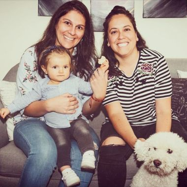 tipos familias lésbicas Isidora tiene dos mamás