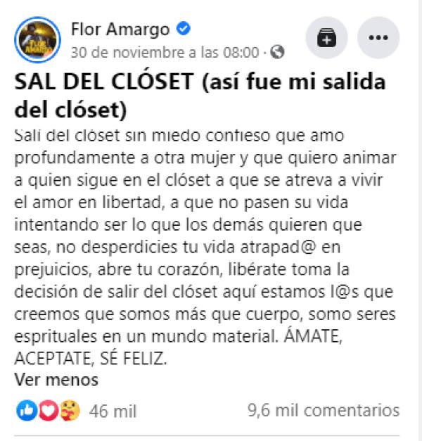 Mensaje Flor Amargo