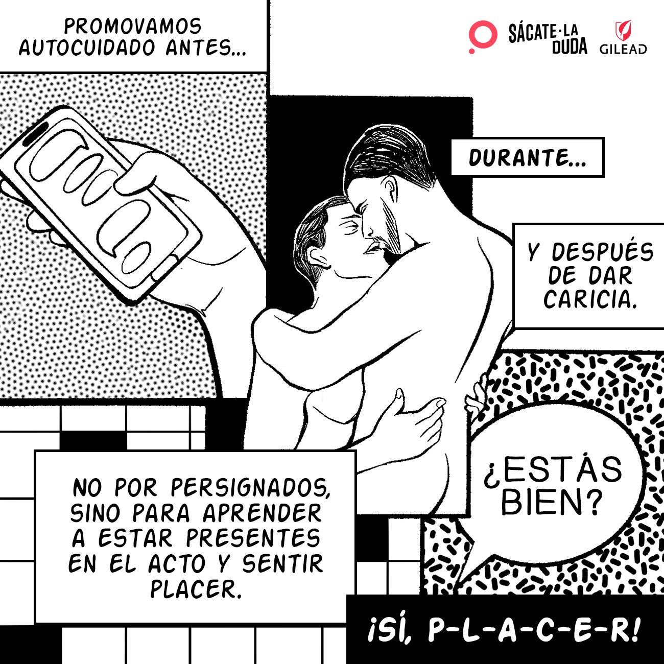 Cómic de la campaña #SácateLaDuda