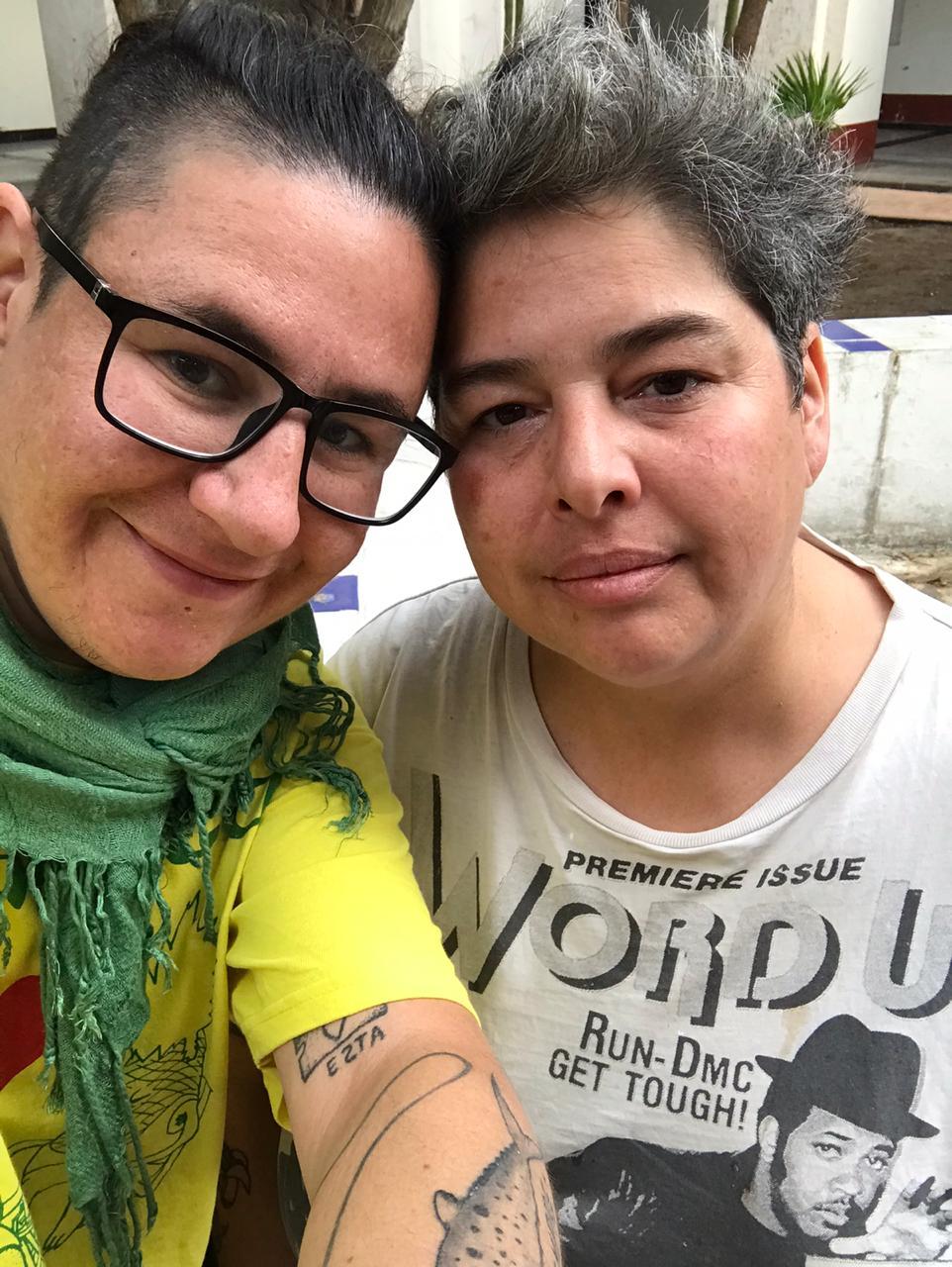 Diana Torres y Ali Gua Gua
