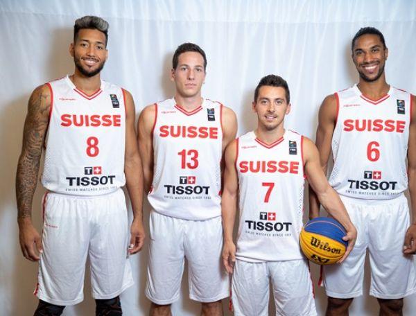 Selección Suiza Basquetbol