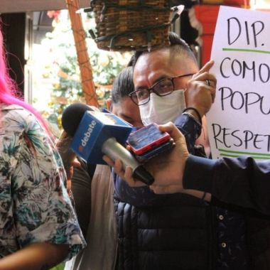 Tiago Ventura protesta contra Apolinar García