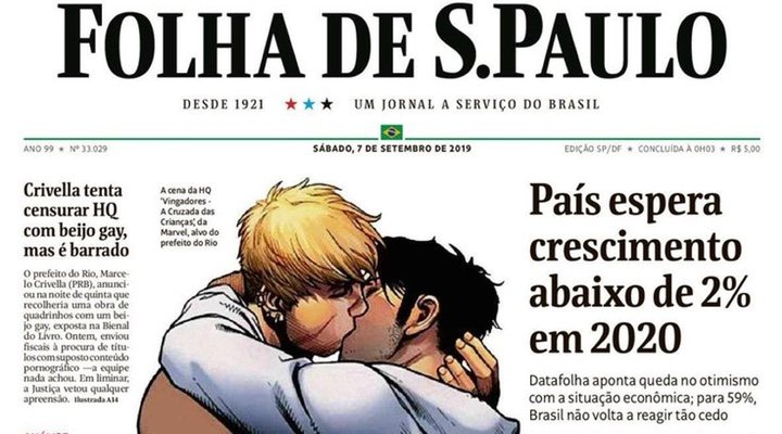 Intento de censura a beso gay en Avengers