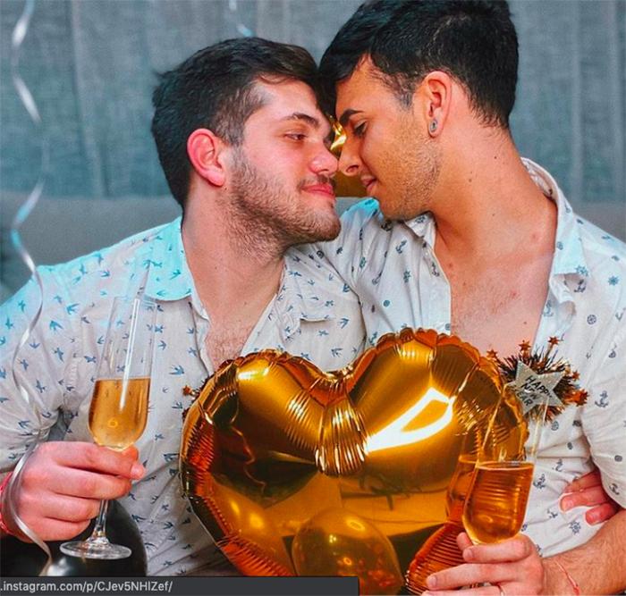 Jero Wero Seba Terry parejas porno gay