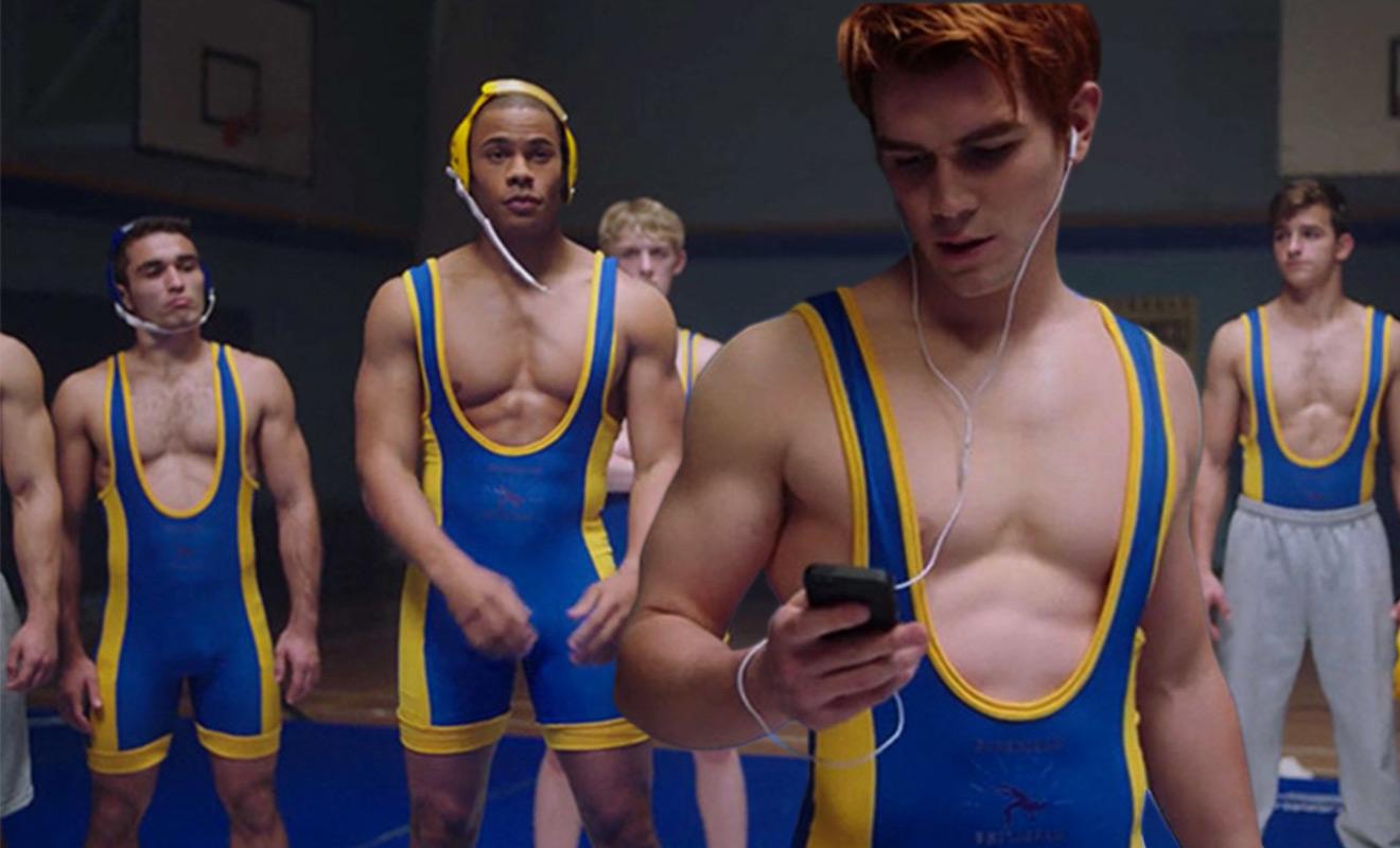 momentos homoeróticos de la serie Riverdale