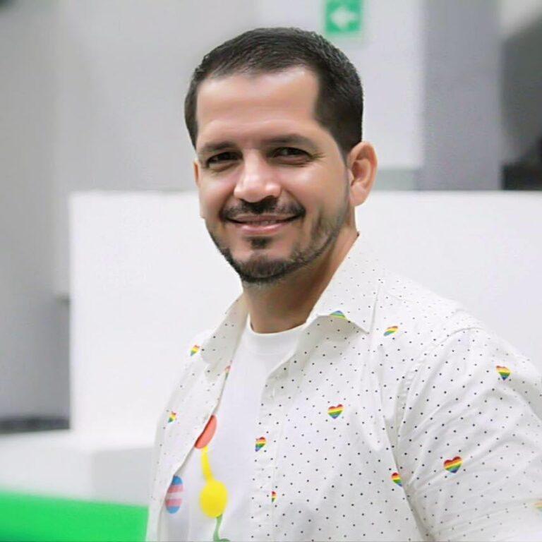 Daniel Preciado es otro de los cnadidatos LGBT+ que participarán en las elecciones 2021