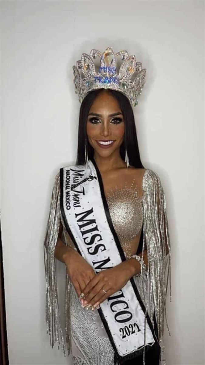 Ganadora de Miss Trans 2021