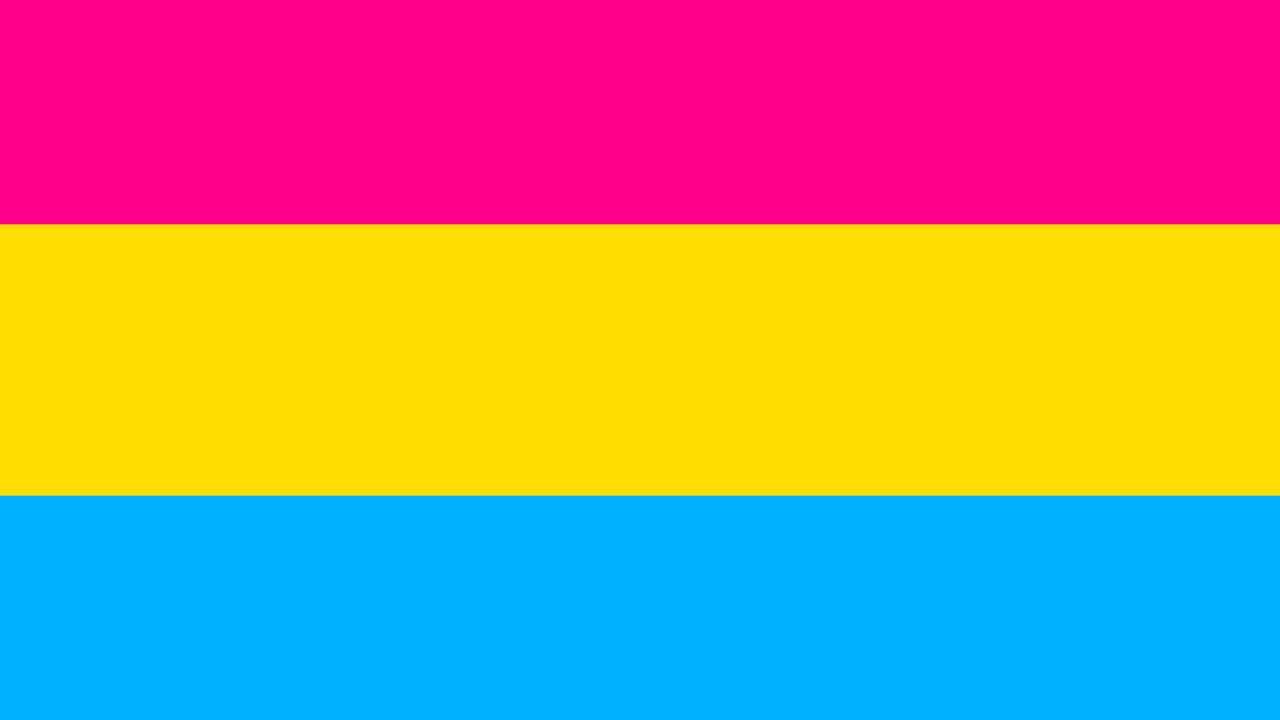 bandera pansexual