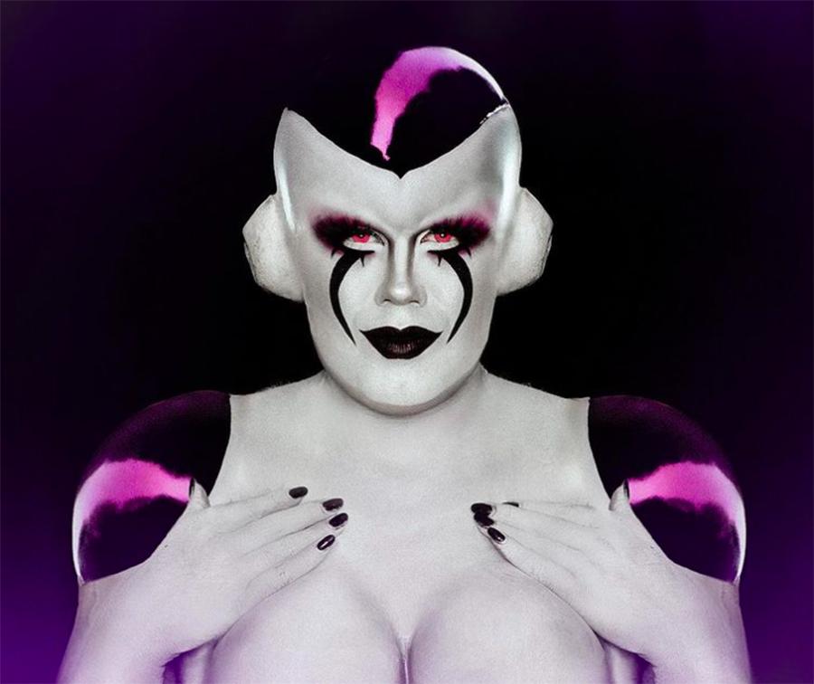 letal drag queen freezer dragon ball