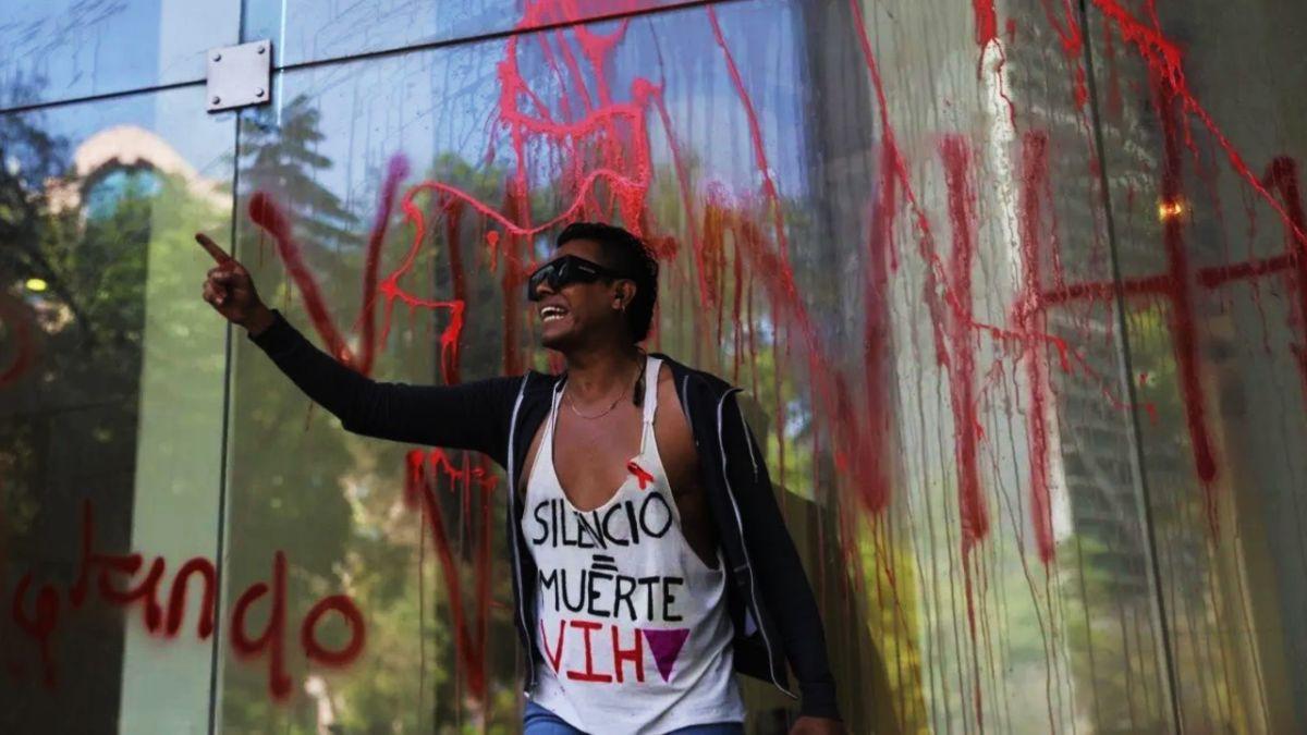 Alaín Pinzón activistas VIH
