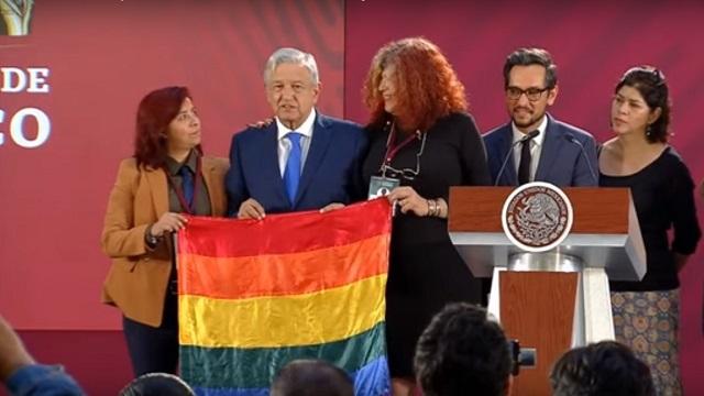 Postura de AMLO sobre derechos LGBT+