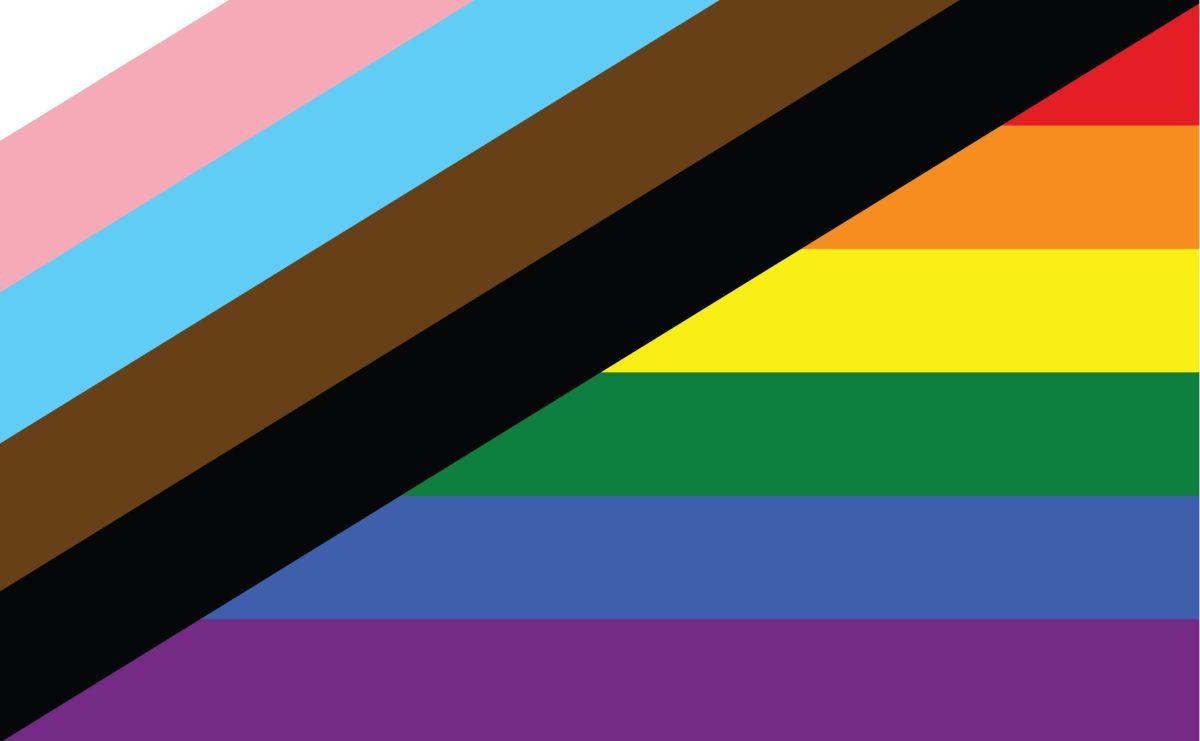 nueva bandera LGBT+ interseccionalidades