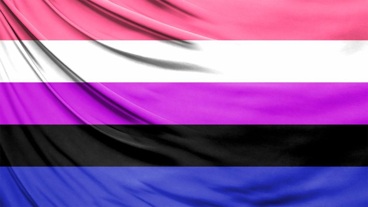 bandera genderfluid