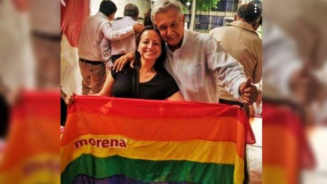 AMLO habla sobre el movimiento LGBT+