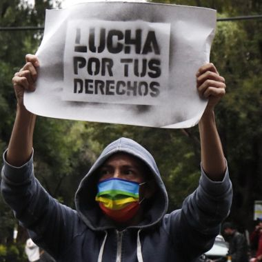 Agresiones contra personas LGBT+ en CDMX