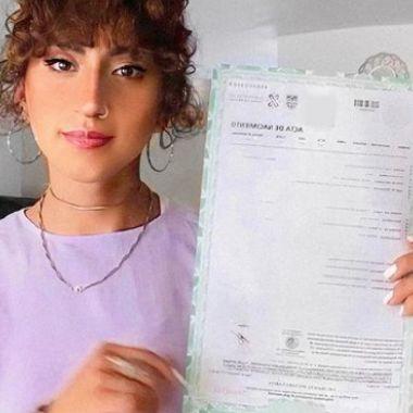 Sofía Pastrana estudiante trans cambió de nombre en la UNAM