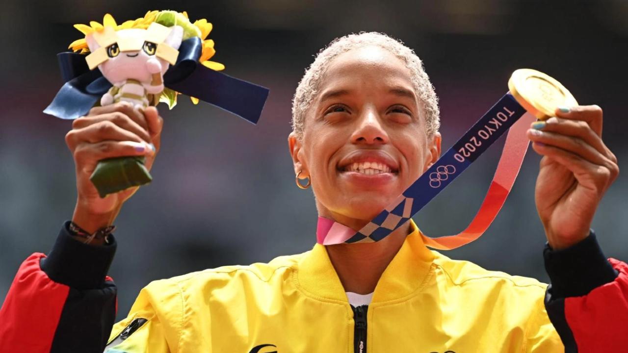 Yulimar Rojas atleta LGBT Venezuela triple salto medalla oro Tokio 2020