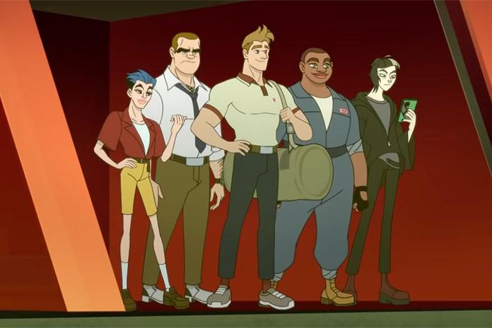 personajes Q-Force Netflix