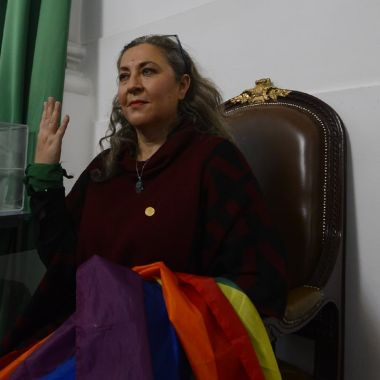 Ana Francis Mor diputada en el Congreso de CDMX conocida como Dipuchula