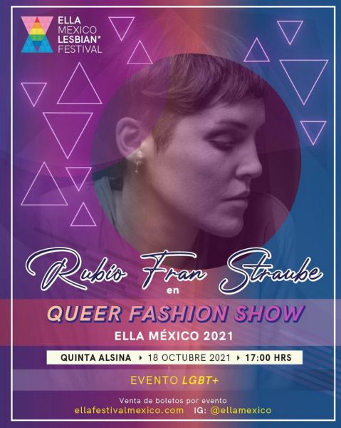 concierto rubio queer fashion show ella méxico 2021
