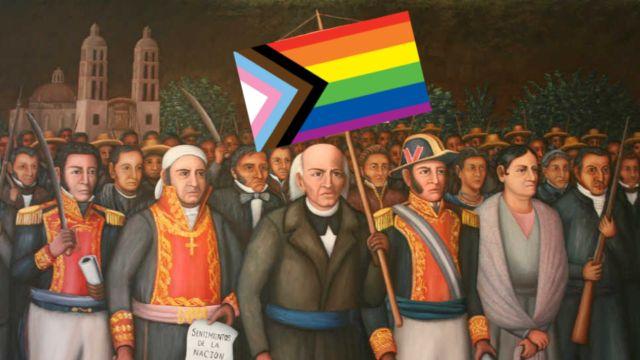 independencia de méxico LGBT demandas