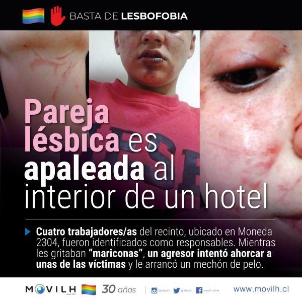 pareja lésbica movilh santiago chile hotel