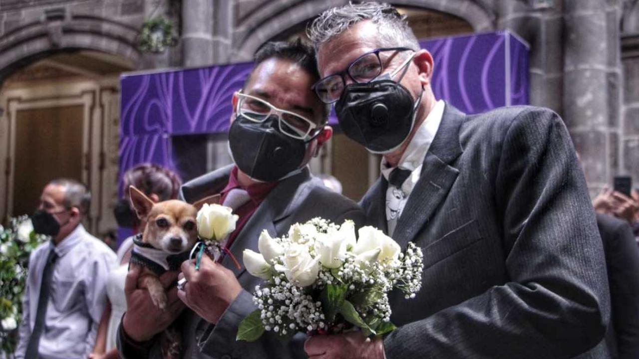 primera boda colectiva puebla homofobia oscar manuel