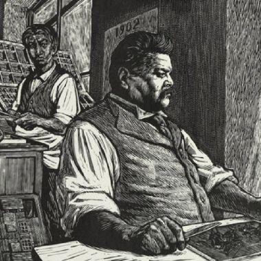 José Guadalupe posada creador de la catrina también dibujó el baile de los 41